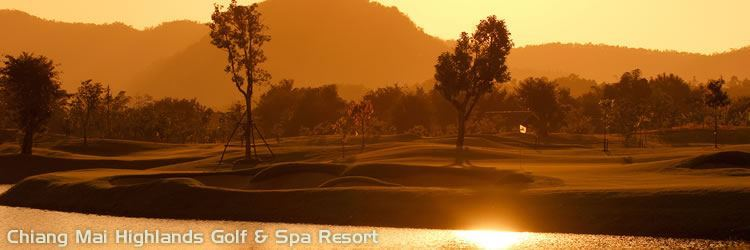 Thailand Golf Holiday and Travel Information - Chiang Mai Highlands Golf & Spa Resort