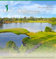 Golf information and brochure Thailand
