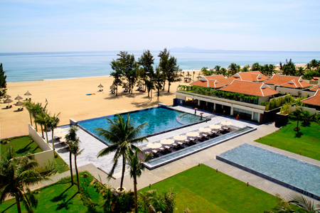 life resort danang - view