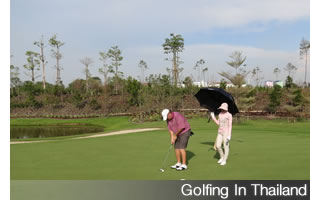 Make All 4 Footers When Golfing In Thailand