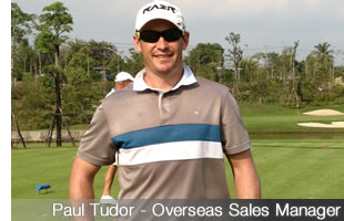 Paul Tudor - Overseas Sales Manager