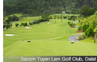Sacom Tuyen Lam Golf Club in Dalat