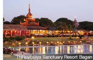 Thiripyistaya Sanctuary Resort Bagan
