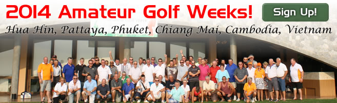Thailand Amateur Golf Weeks 2013