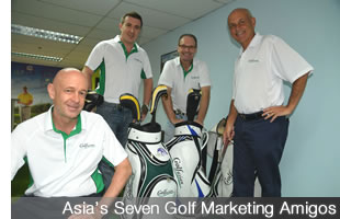 Golfasian and Go Golfing Partnership to Bring World Masters Golf Events to Asia