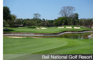 Bali National course