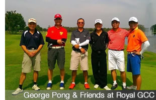 George Pong - Golf in Thailand