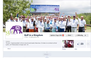Golf in a Kingdom on Facebook