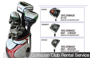 Golf Club Set Rental Service