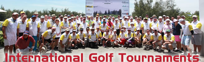 International Golf Tournaments
