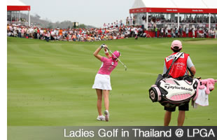 Ladies Golf in Thailand