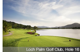 Loch Palm Golf Club - Hole 16