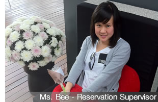 Khun Bee - Reservation Supervisor
