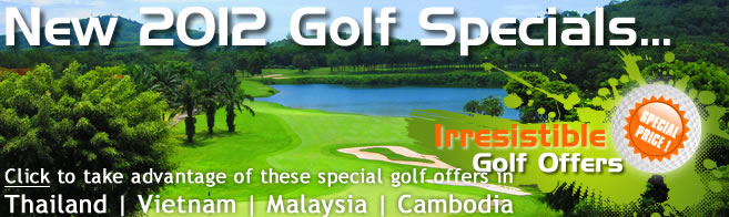 Thailand Golf Special Offers