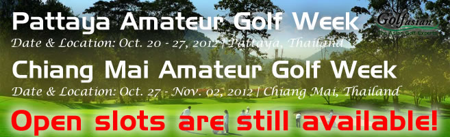 Thailand Amateur Golf Weeks 2012