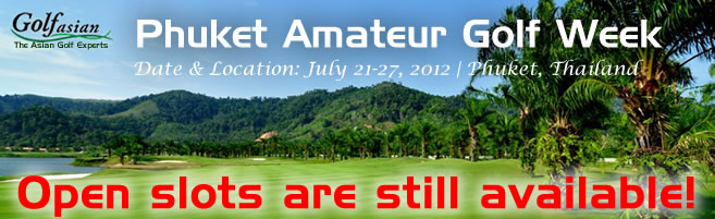 Phuket Amateur Golf Week 2012