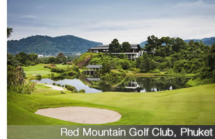 Red Mountain Golf Club... the best in Thailand