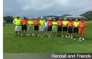 David Rendall - Golf in Thailand