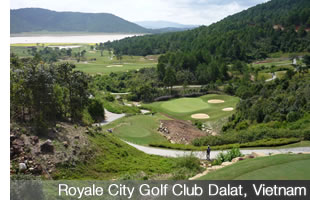 Royale City Golf Club, Dalat, Vietnam