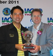 IGTM 2011 Award for the Best Golf Destination in Asia and Australasia for 2012 goes to PATTAYA